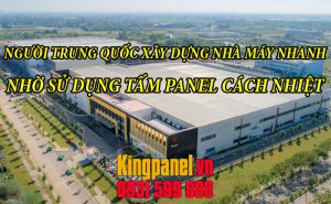 nguoi trung quoc xay dung nha may nhanh nho su dung tam Panel cach nhiet (30)