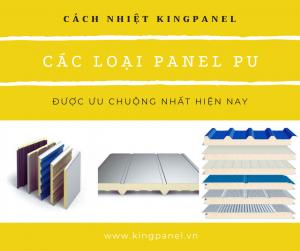 Các loại panel pu được ưa chuộng nhất hiện nay
